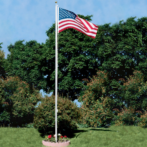 Super Tough 25ft Outdoor Flagpole Kit