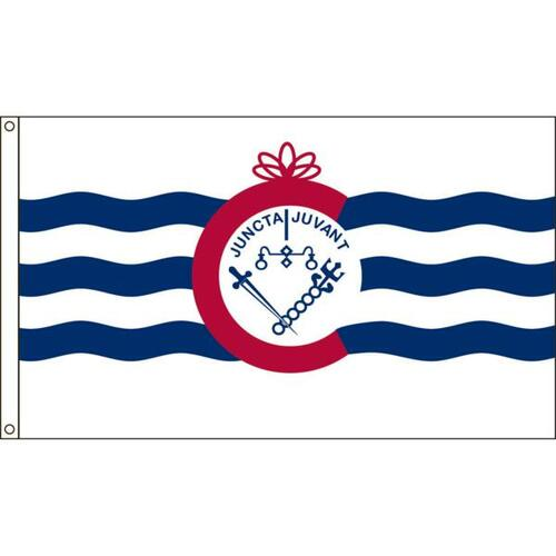 Cincinnati 3ft x 5ft Nylon Flag