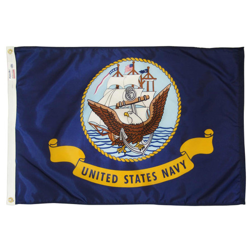 Navy Flag 4x6ft Nylon