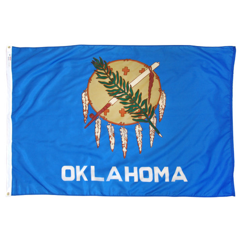 Oklahoma Flag 4 x 6 Feet Nylon