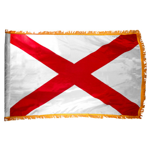 Alabama Flag 3ft x 5ft Nylon Indoor