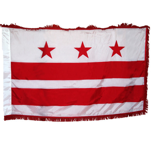 District of Columbia (Washington D.C). Flag 3ft x 5ft Nylon Indoor