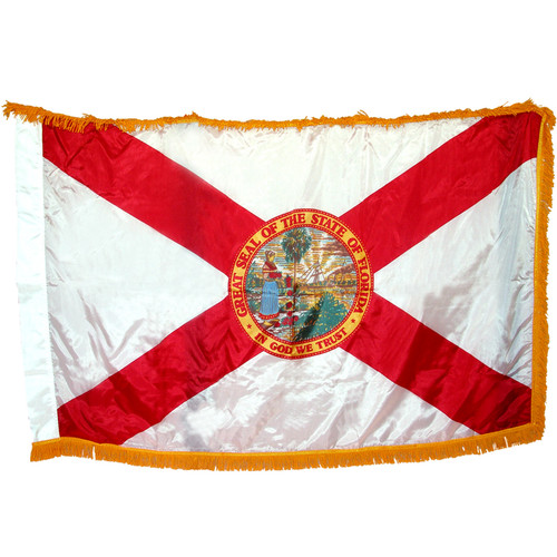 Florida Flag 3ft x 5ft Nylon Indoor