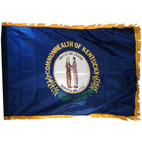 Kentucky Flag 3ft x 5ft Nylon Indoor