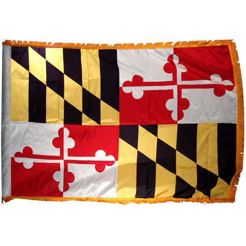 Maryland Flag 3ft x 5ft Nylon Indoor