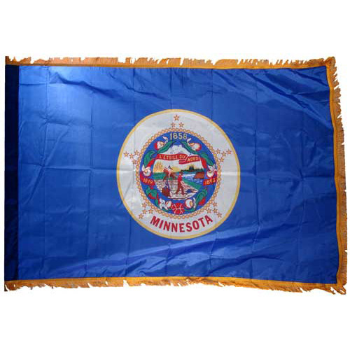 Minnesota Flag 3ft x 5ft Nylon Indoor