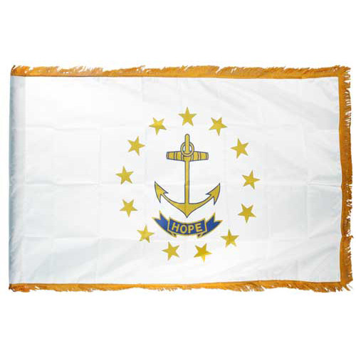 Rhode Island Flag 3ft x 5ft Nylon Indoor