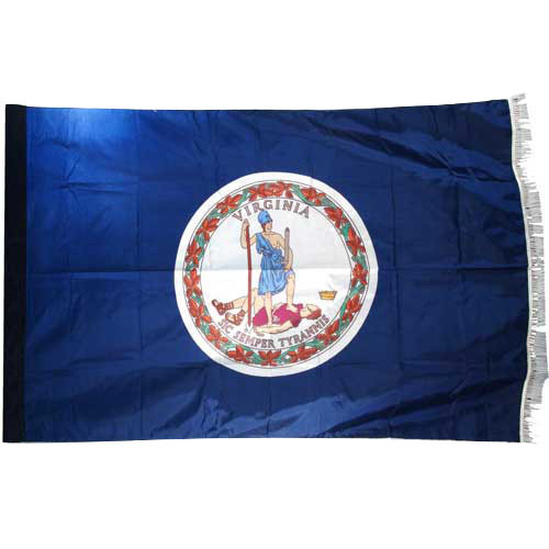 Virginia Flag 3ft x 5ft Nylon Indoor