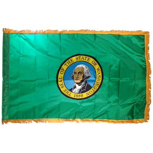Washington Flag 3ft x 5ft Nylon Indoor