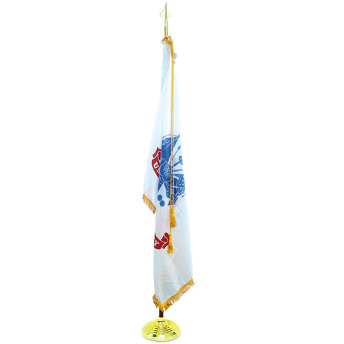 Super Tough Army 3ft x 5ft Flag, Flagpole, Base, and Tassel