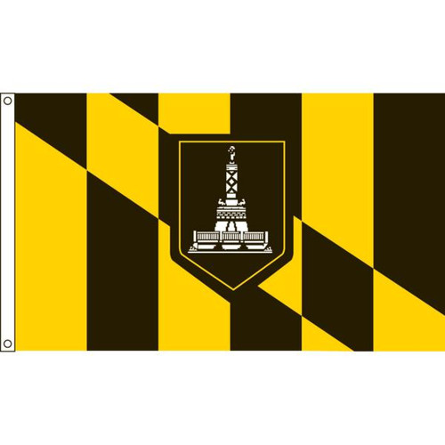 Baltimore 4' X 6' Nylon Flag