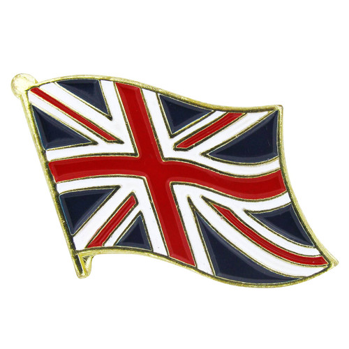 United Kingdom Flag Lapel Pin - Single