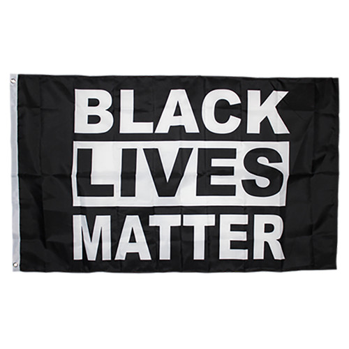 Black Lives Matter Flag 3ft x 5ft Nylon