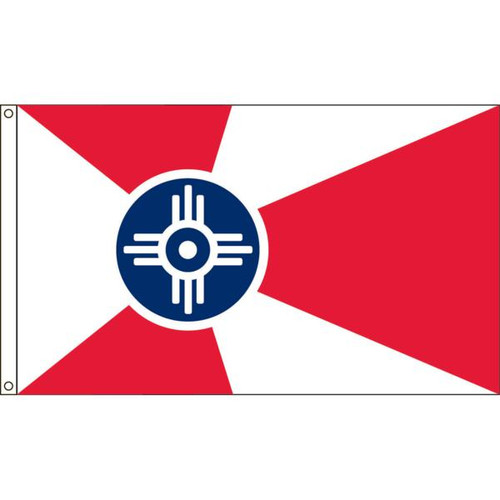 Wichita 4' X 6' Nylon Flag