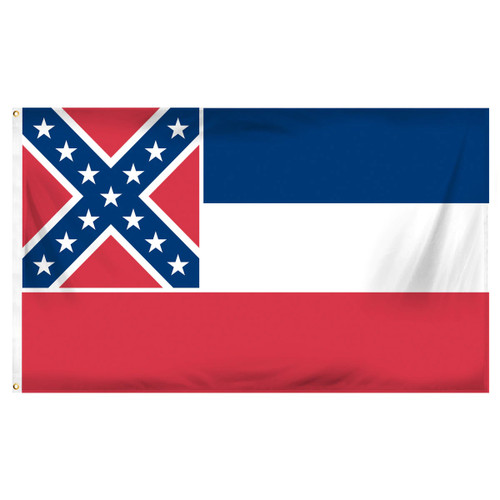 Mississippi Flag 3ft x 5ft Printed Polyester
