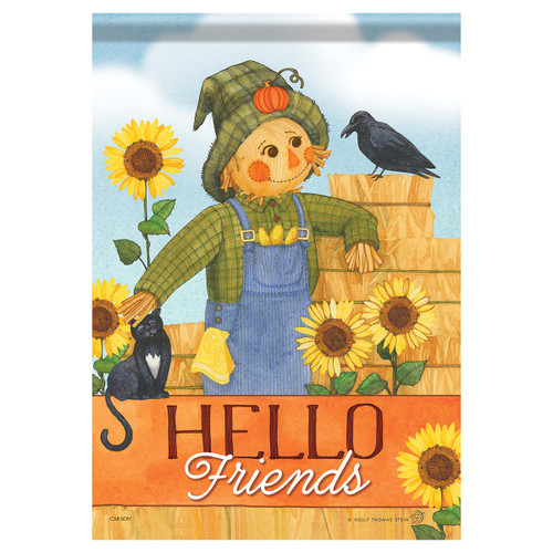 Carson Fall Banner Flag - Sweet Scarecrow
