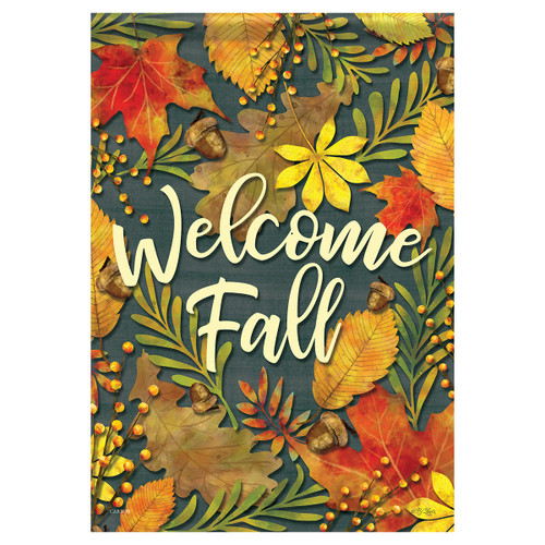 Carson Fall Banner Flag - Fall Leaves