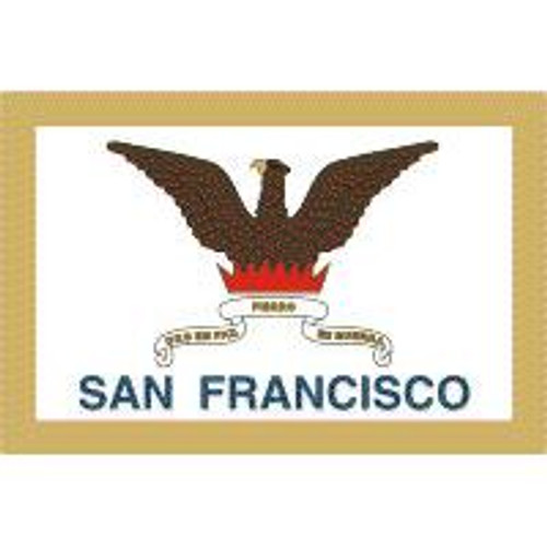 San Francisco 6' X 10' Nylon Flag