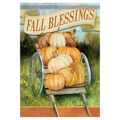 Carson Fall Garden Flag - Fall Blessings