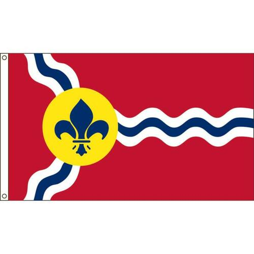 St Louis 6' X 10' Nylon Flag