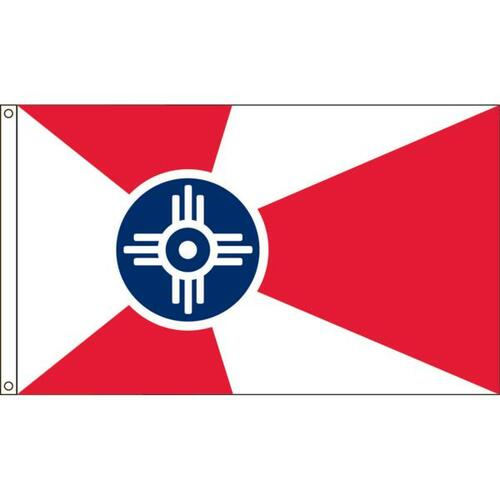 Wichita 6' X 10' Nylon Flag