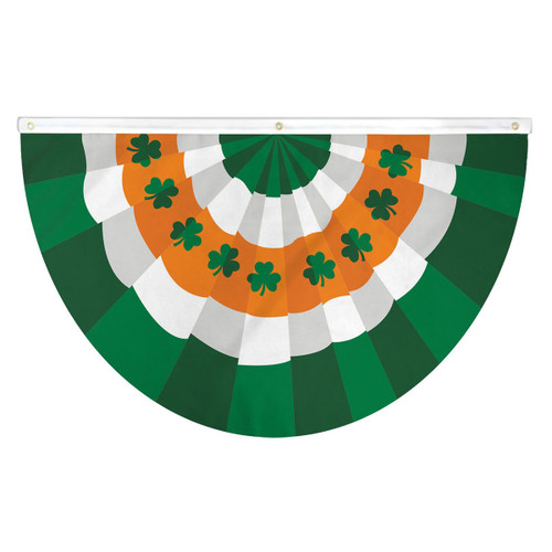 St. Patrick's Day Bunting Flag - 3ft x 5ft Printed Polyester
