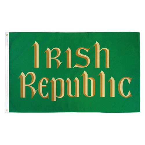 Irish Republic Flag - 3ft x  5ft Printed Polyester