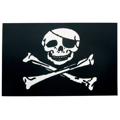 Pirate Flag Sticker - Jolly Roger Decal