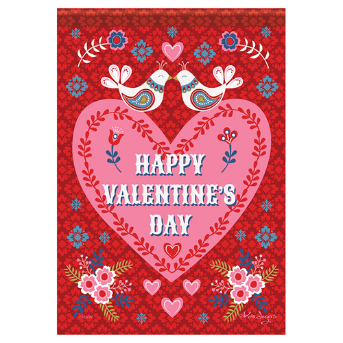 Valentine Banner Flag  - Nordic Valentine