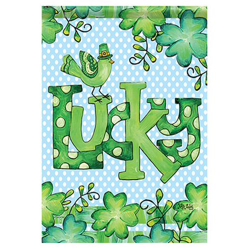 St. Patrick's Day Banner Flag - Feeling Lucky