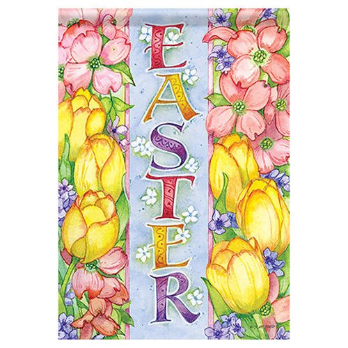 Easter Garden Flag - Easter Joy