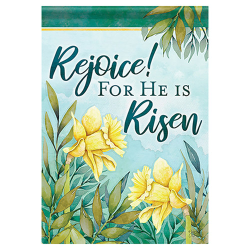 Easter Garden Flag - Signs of Spring