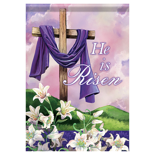 Easter Garden Flag - Holy Times