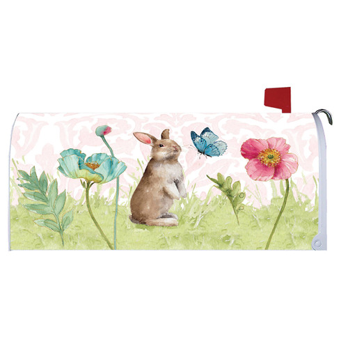 Easter Mailbox Cover - Bunny and Flower