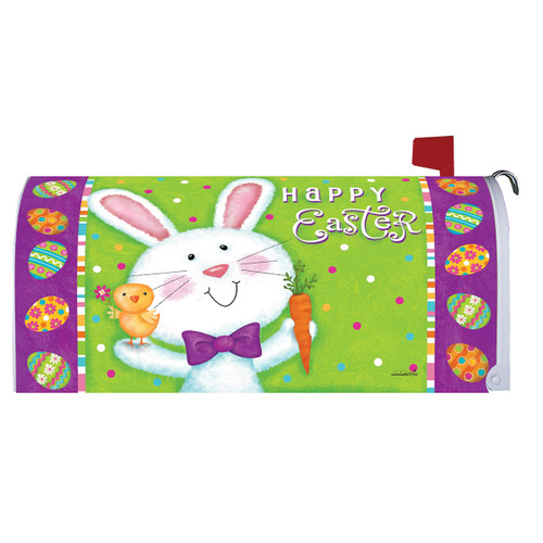 Easter Mailbox Cover - Bowtie Bunny