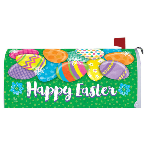 Easter Mailbox Cover - Easter Egg Hunt