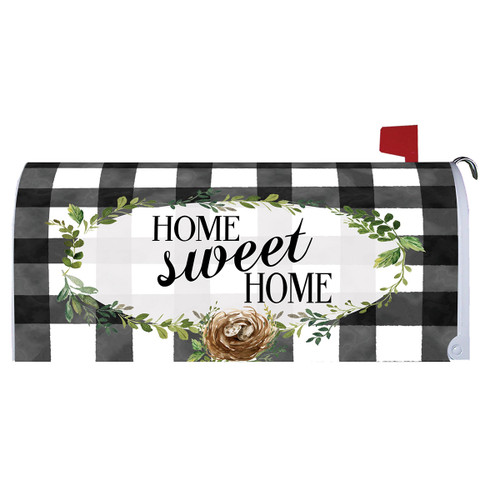 Home Sweet Home Mailbox Cover
