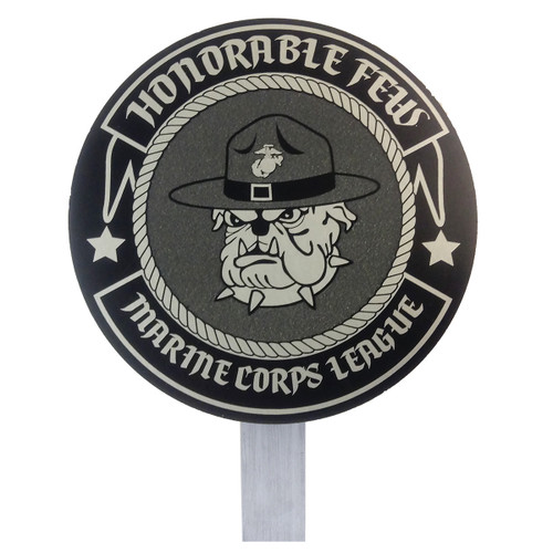 US Marine Corps League Grave Flag Holder