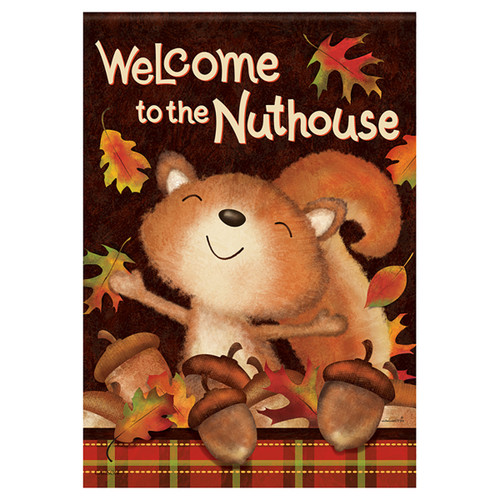 Carson Fall Garden Flag - Fall Nuthouse