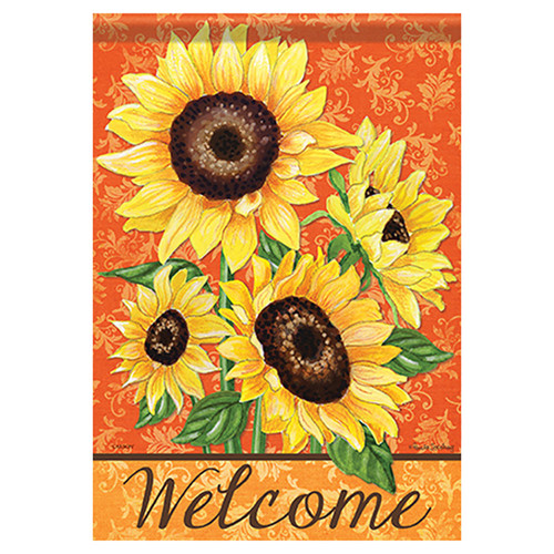 Carson Fall Garden Flag - Bold Sunflowers