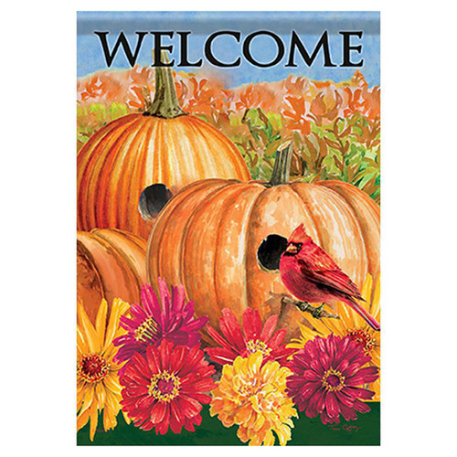 Carson Fall Banner Flag - Signs of Fall