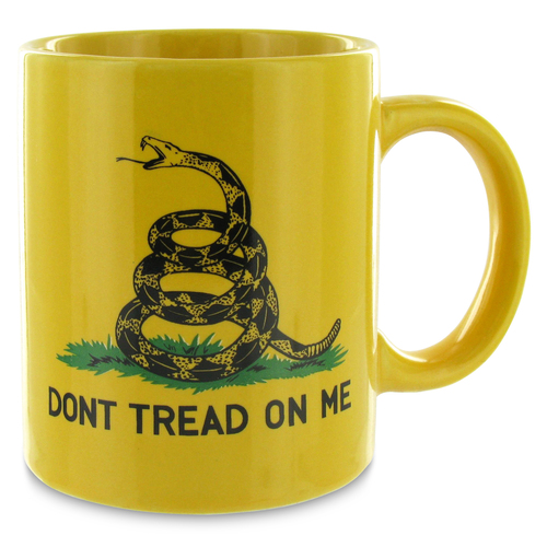 Gadsden Mug - Don't Tread On Me