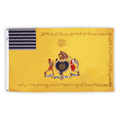 Philadelphia Light Horse 3ft x 5ft Nylon Flag