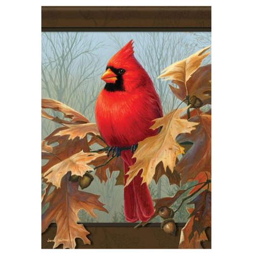 Carson Fall Banner Flag - Cardinal & Oak