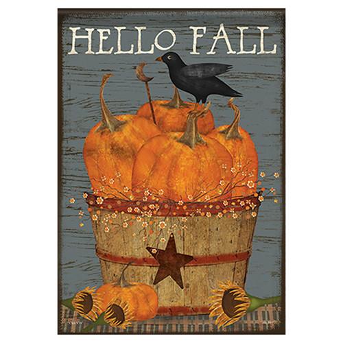 Carson Fall Banner Flag - Pumpkin Basket