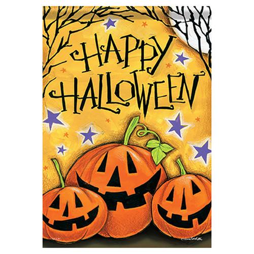 Carson Halloween Garden Flag - Happy Jacks