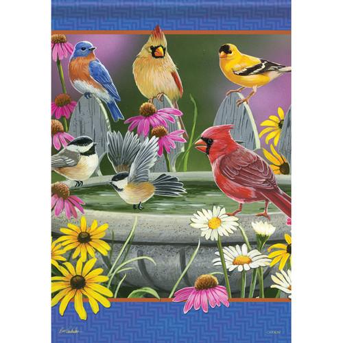Carson Summer Banner Flag - Bird Bath Meeting
