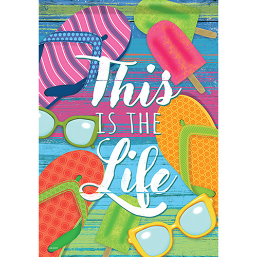 Carson Summer Banner Flag - This is the Life