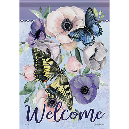 Carson Summer Banner Flag - Butterfly Collection