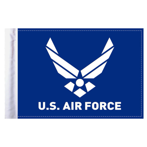 """Air Force Logo Motorcycle Flag - 6"""" x 9"""""""